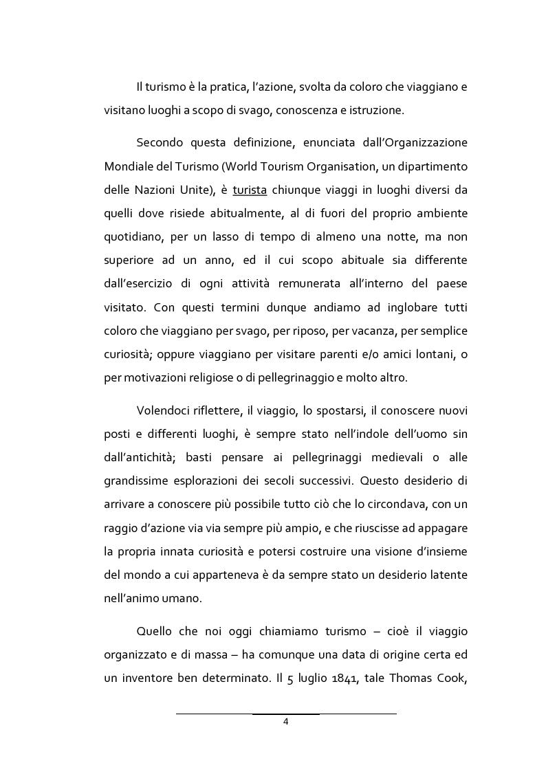 Anteprima della tesi: Il turismo urbano in provincia di Ragusa: l'organizzazione multipolare delle risorse per la competitività turistica del territorio, Pagina 2