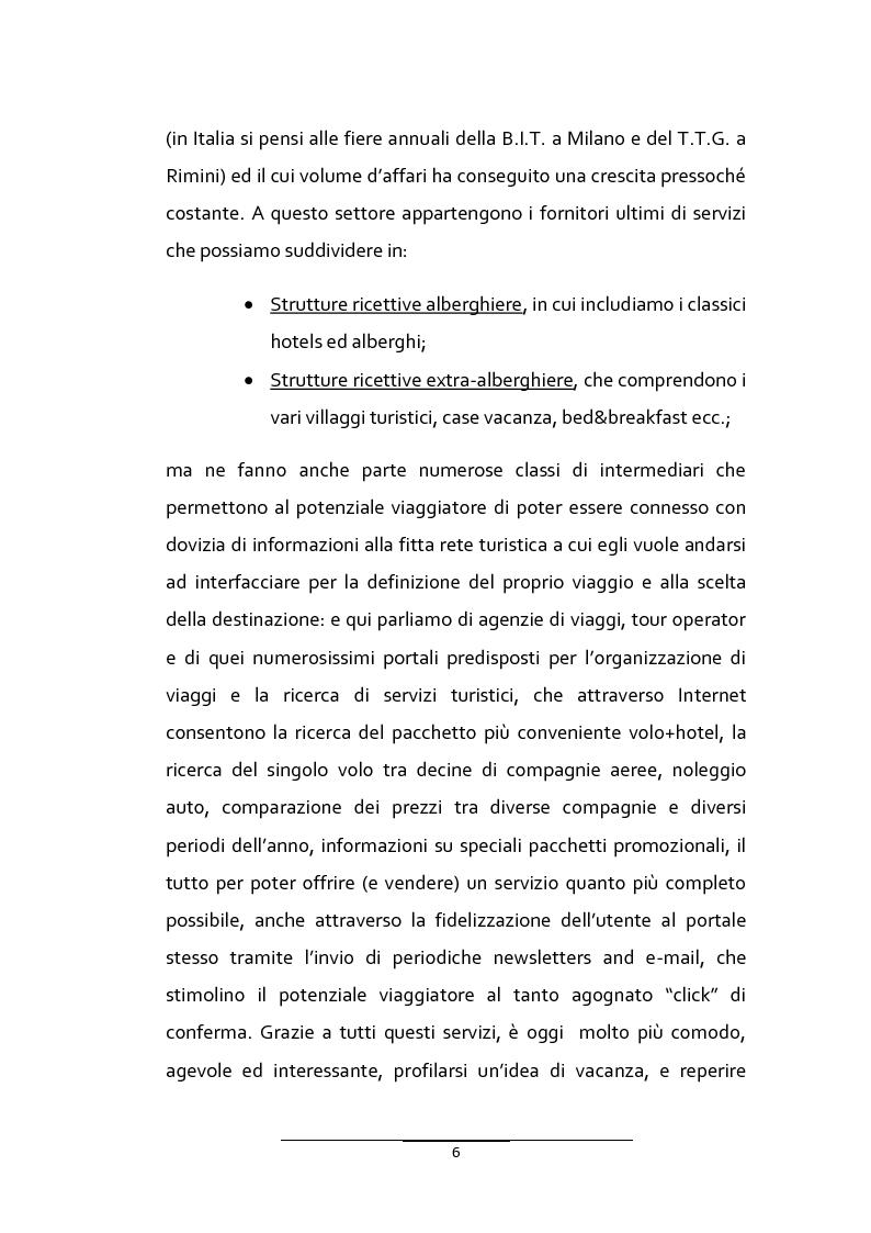 Anteprima della tesi: Il turismo urbano in provincia di Ragusa: l'organizzazione multipolare delle risorse per la competitività turistica del territorio, Pagina 4