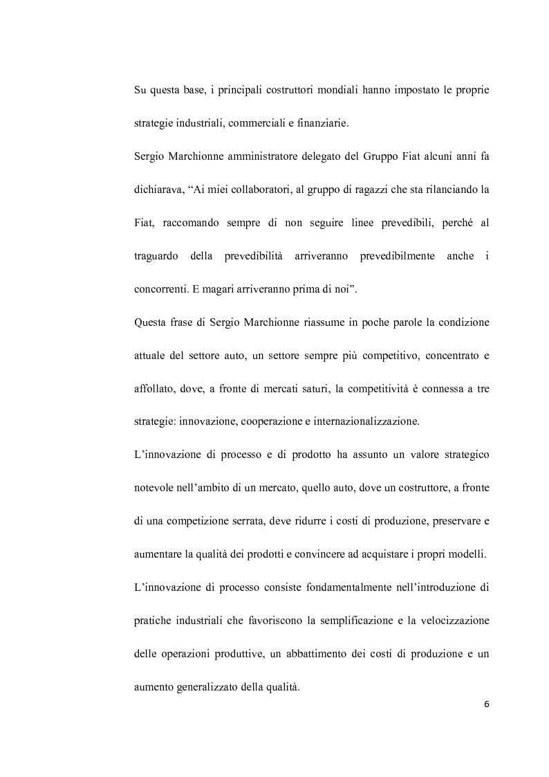 Anteprima della tesi: L'Industria dell'auto tra passato e futuro: strategia di innovazione e cooperazione, Pagina 3