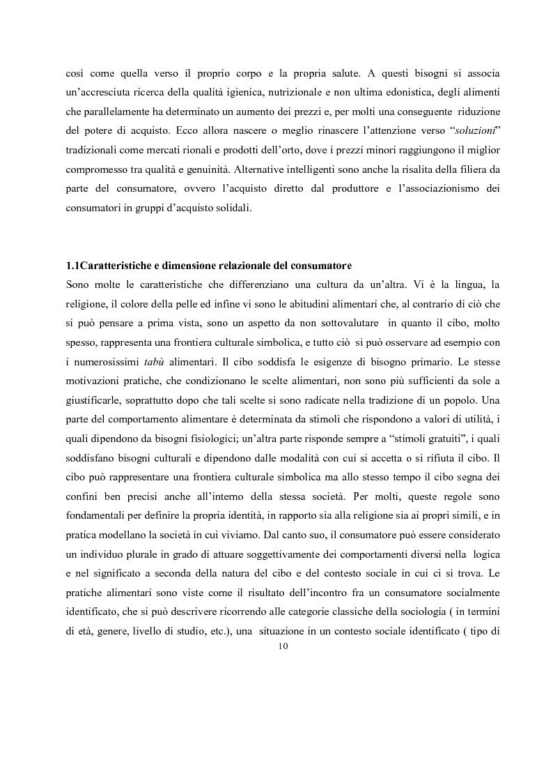 Anteprima della tesi: IL governo di un'impresa di ristorazione: il ruolo del Gastronomo nell'azienda ''Ombre Rosse'', Pagina 7