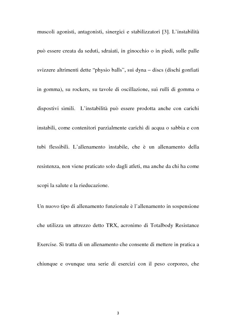 Anteprima della tesi: Core stability e un'innovazione nel fitness: il TRX Suspension Training, Pagina 4