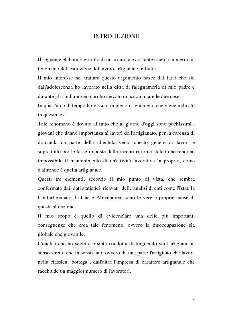 Anteprima della tesi: Estinzione del lavoro artigianale, Pagina 2
