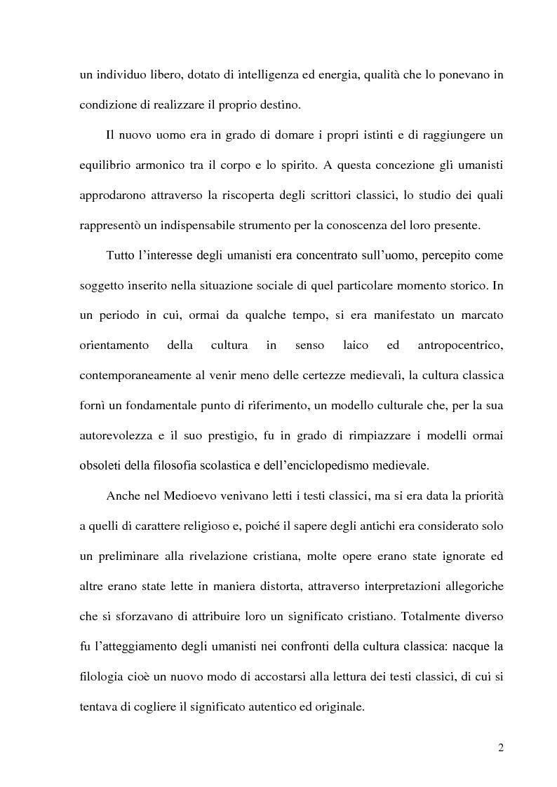 Anteprima della tesi: Leon Battista Alberti e il certame coronario, Pagina 3