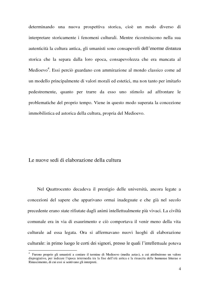 Anteprima della tesi: Leon Battista Alberti e il certame coronario, Pagina 5