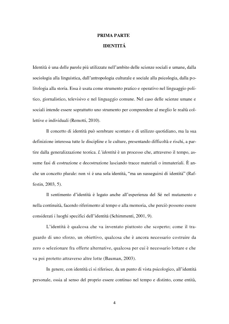 Anteprima della tesi: Identità in diaspora: italiani a New York, Pagina 4