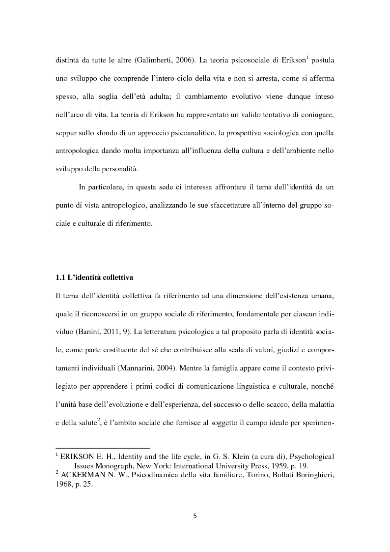 Anteprima della tesi: Identità in diaspora: italiani a New York, Pagina 5