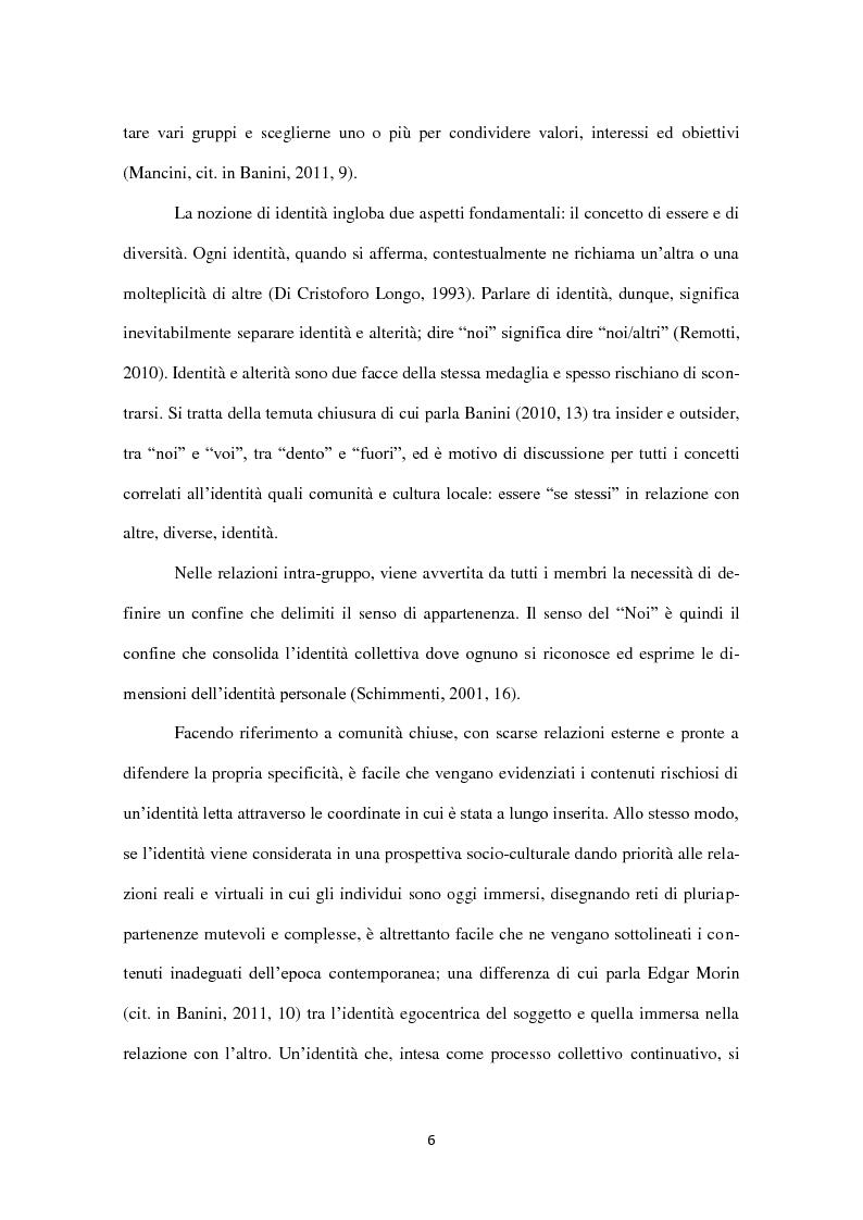Anteprima della tesi: Identità in diaspora: italiani a New York, Pagina 6