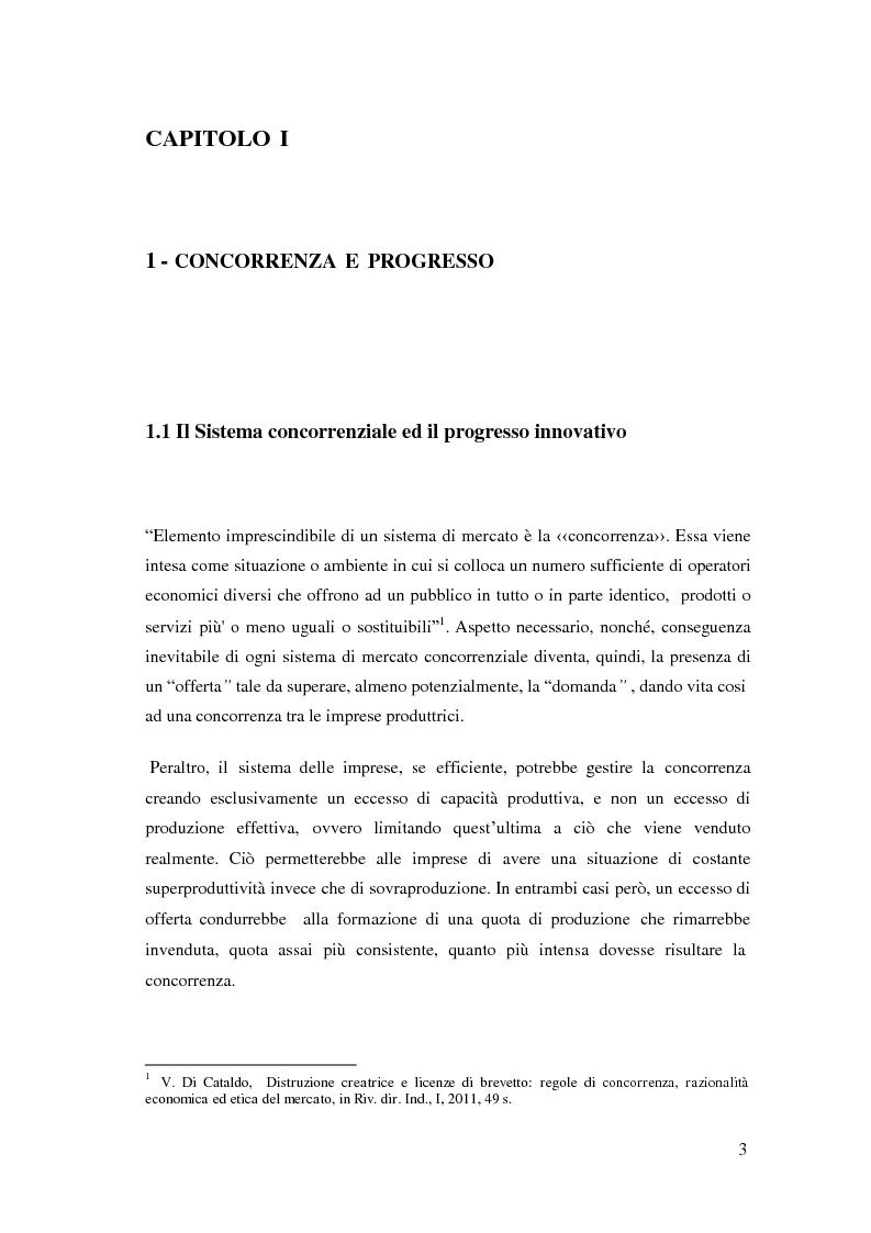 Anteprima della tesi: Tutela del brevetto e competitività economica, Pagina 4