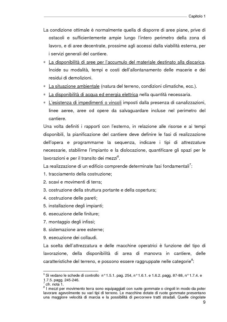 Anteprima della tesi: Il progetto della sicurezza nei cantieri edili. Analisi dell'iter legislativo e verifiche di fattibilità, Pagina 4