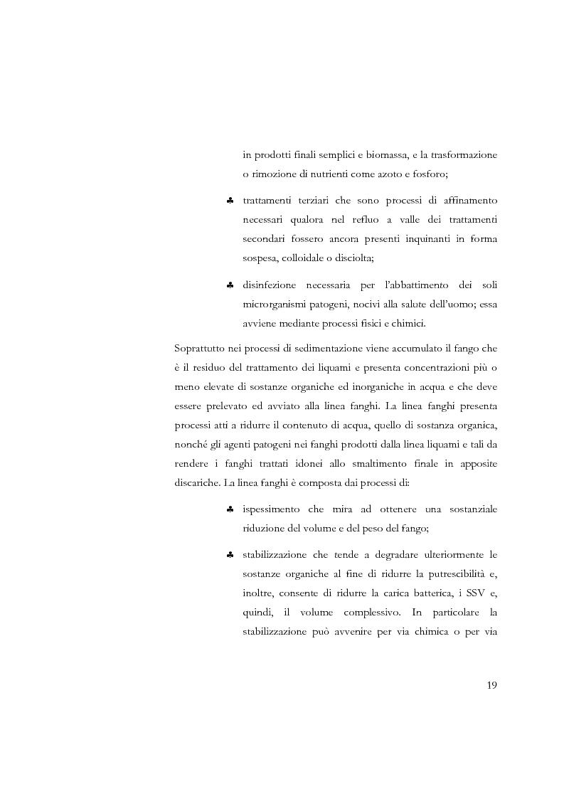 Anteprima della tesi: Studio sulla sedimentabilità dei fanghi secondari nell'impianto di depurazione di Salerno, Pagina 6