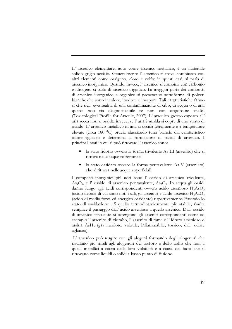 Anteprima della tesi: Indagine sull'applicabilità del chitosano nella rimozione di ioni arseniato dalle acque destinate al consumo umano, Pagina 7