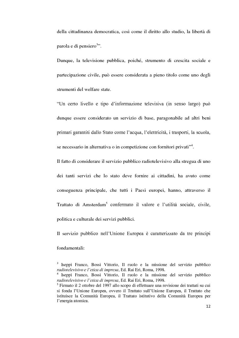 Anteprima della tesi: Il Servizio Pubblico e la Radio di Servizio: Il caso Italia Istruzioni per L'uso, Pagina 10