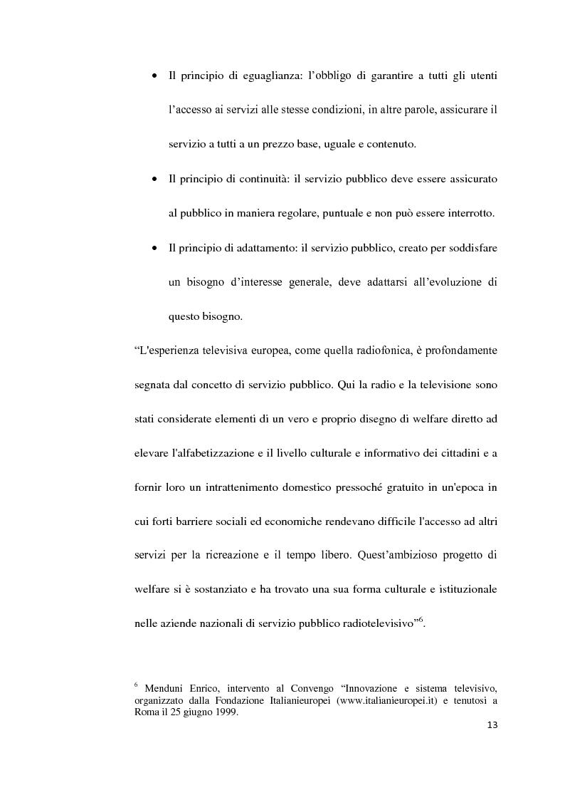 Anteprima della tesi: Il Servizio Pubblico e la Radio di Servizio: Il caso Italia Istruzioni per L'uso, Pagina 11