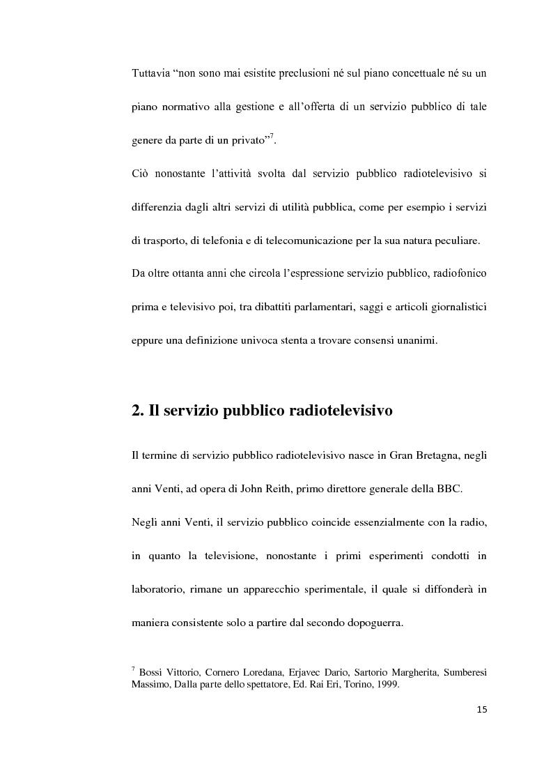 Anteprima della tesi: Il Servizio Pubblico e la Radio di Servizio: Il caso Italia Istruzioni per L'uso, Pagina 13