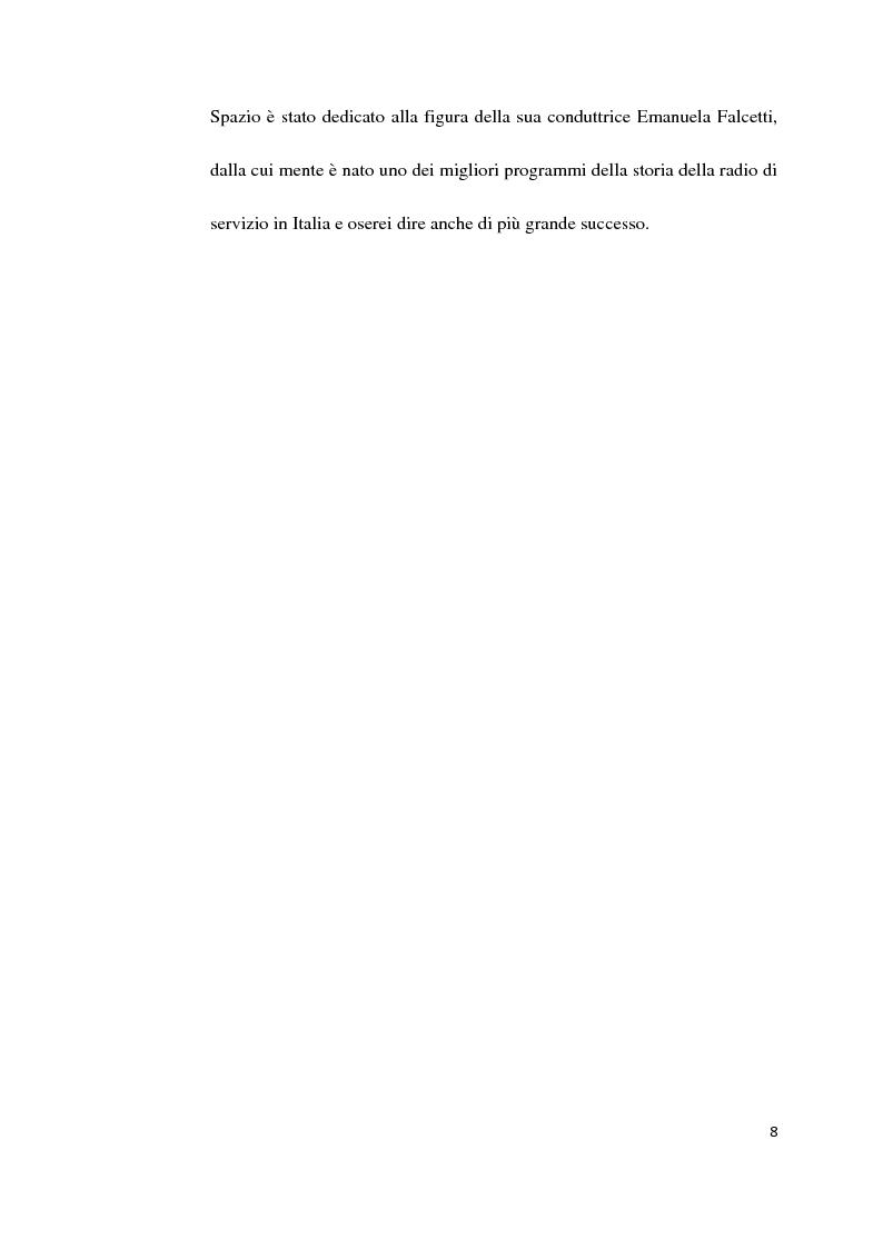 Anteprima della tesi: Il Servizio Pubblico e la Radio di Servizio: Il caso Italia Istruzioni per L'uso, Pagina 6