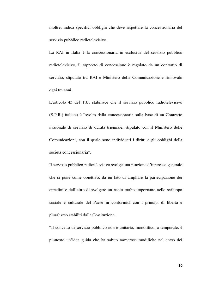 Anteprima della tesi: Il Servizio Pubblico e la Radio di Servizio: Il caso Italia Istruzioni per L'uso, Pagina 8