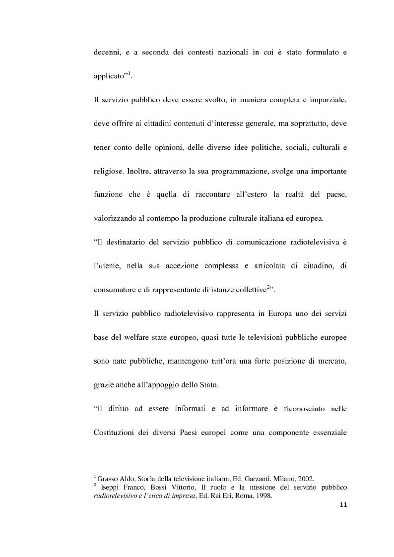 Anteprima della tesi: Il Servizio Pubblico e la Radio di Servizio: Il caso Italia Istruzioni per L'uso, Pagina 9