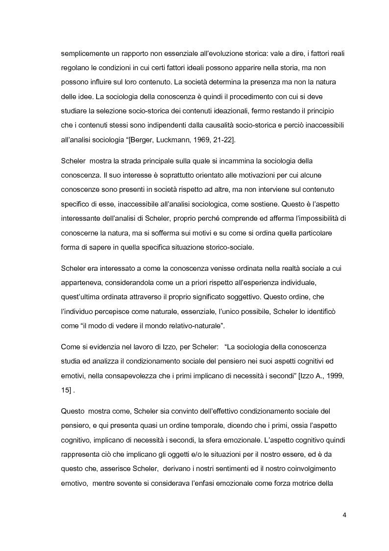 Anteprima della tesi: Costruzione sociale della realtà e vita quotidiana: il contributo di Berger e Luckmann alla sociologia della conoscenza, Pagina 3