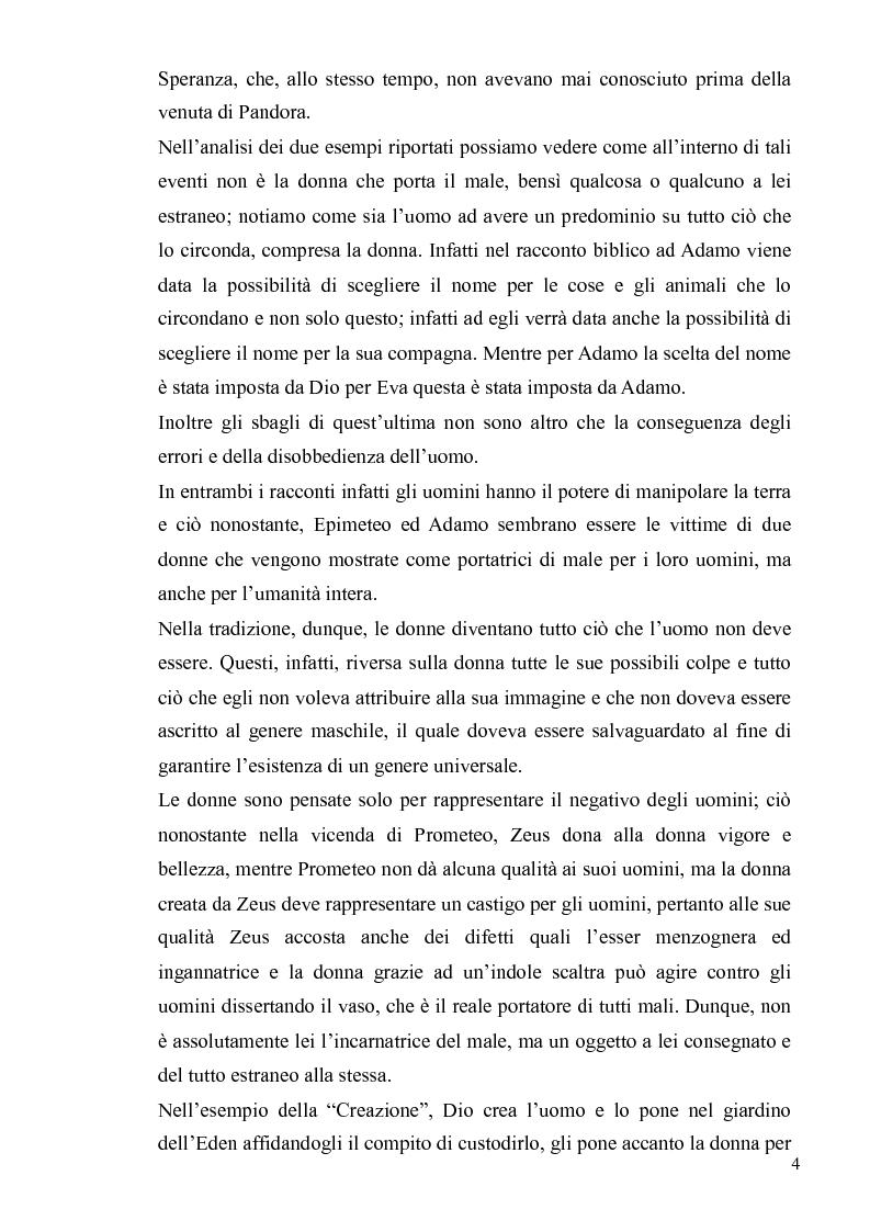 Anteprima della tesi: Ironia Femminile tra Storia Patriarcale e Psicoanalisi Freudiana, Pagina 4