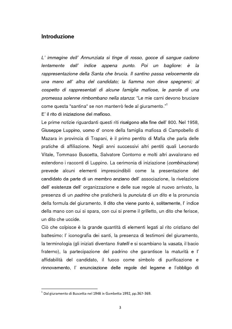 Anteprima della tesi: La Chiesa di fronte alla mafia: 1945-2000, Pagina 2