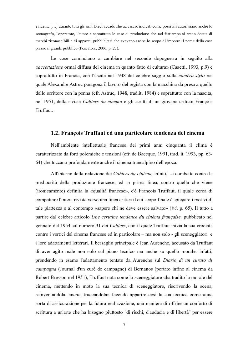 Anteprima della tesi: Politiche autoriali. Sceneggiatura contro regia, da Aristotele alle serie tv contemporanee, Pagina 6
