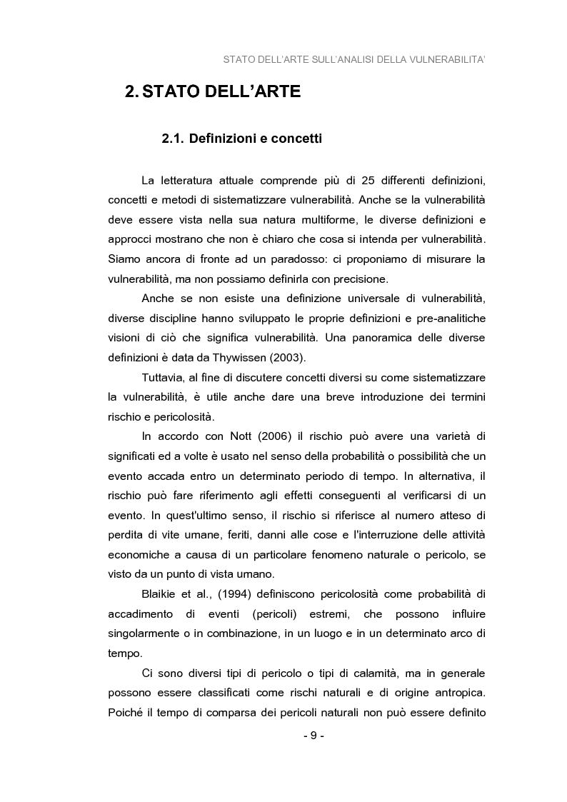 Anteprima della tesi: Analisi della vulnerabilità del territorio del bacino idrografico del fiume Musone mediante strumenti G.I.S., Pagina 11