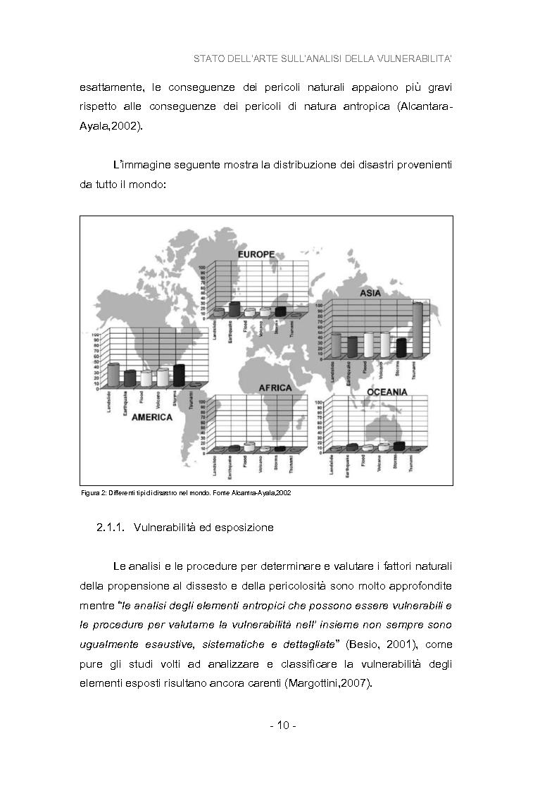 Anteprima della tesi: Analisi della vulnerabilità del territorio del bacino idrografico del fiume Musone mediante strumenti G.I.S., Pagina 12