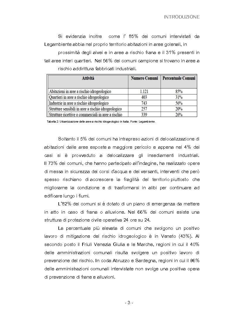 Anteprima della tesi: Analisi della vulnerabilità del territorio del bacino idrografico del fiume Musone mediante strumenti G.I.S., Pagina 5