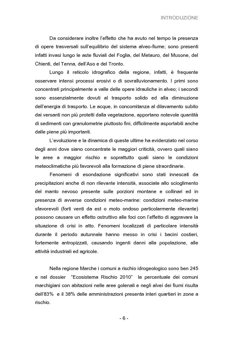 Anteprima della tesi: Analisi della vulnerabilità del territorio del bacino idrografico del fiume Musone mediante strumenti G.I.S., Pagina 8