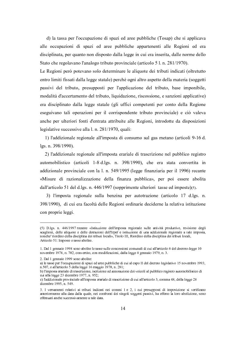 Anteprima della tesi: L'autonomia tributaria delle regioni e degli enti locali, Pagina 10