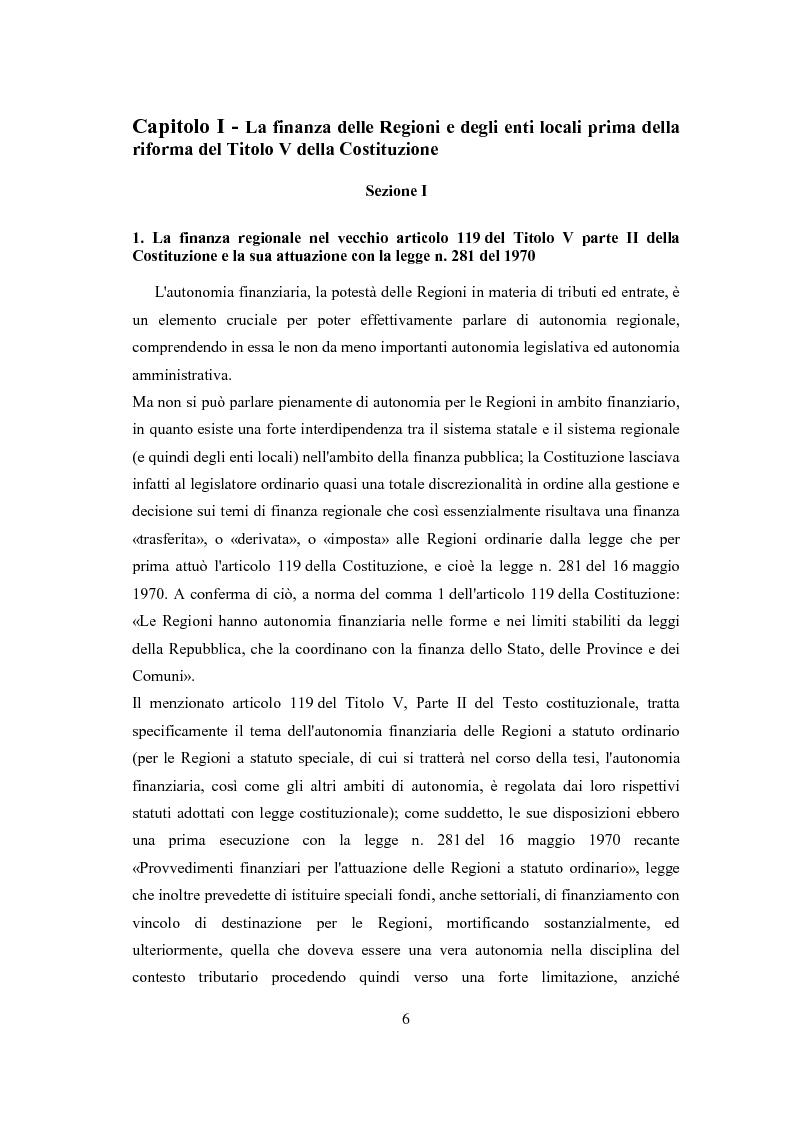 Anteprima della tesi: L'autonomia tributaria delle regioni e degli enti locali, Pagina 2