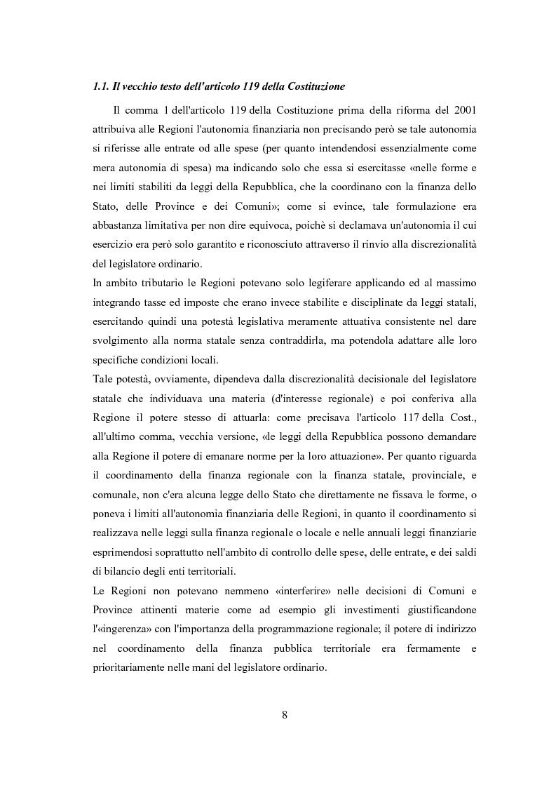 Anteprima della tesi: L'autonomia tributaria delle regioni e degli enti locali, Pagina 4