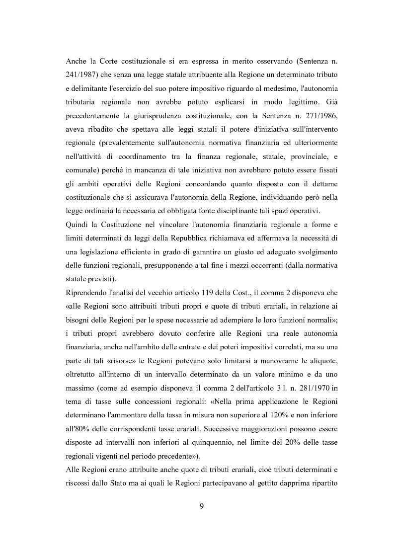 Anteprima della tesi: L'autonomia tributaria delle regioni e degli enti locali, Pagina 5