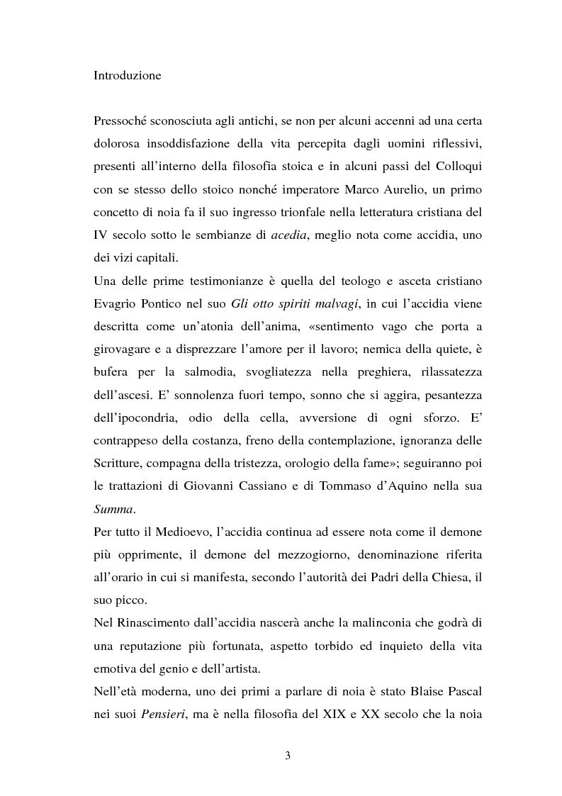 Anteprima della tesi: Leopardi e la noia, Pagina 2