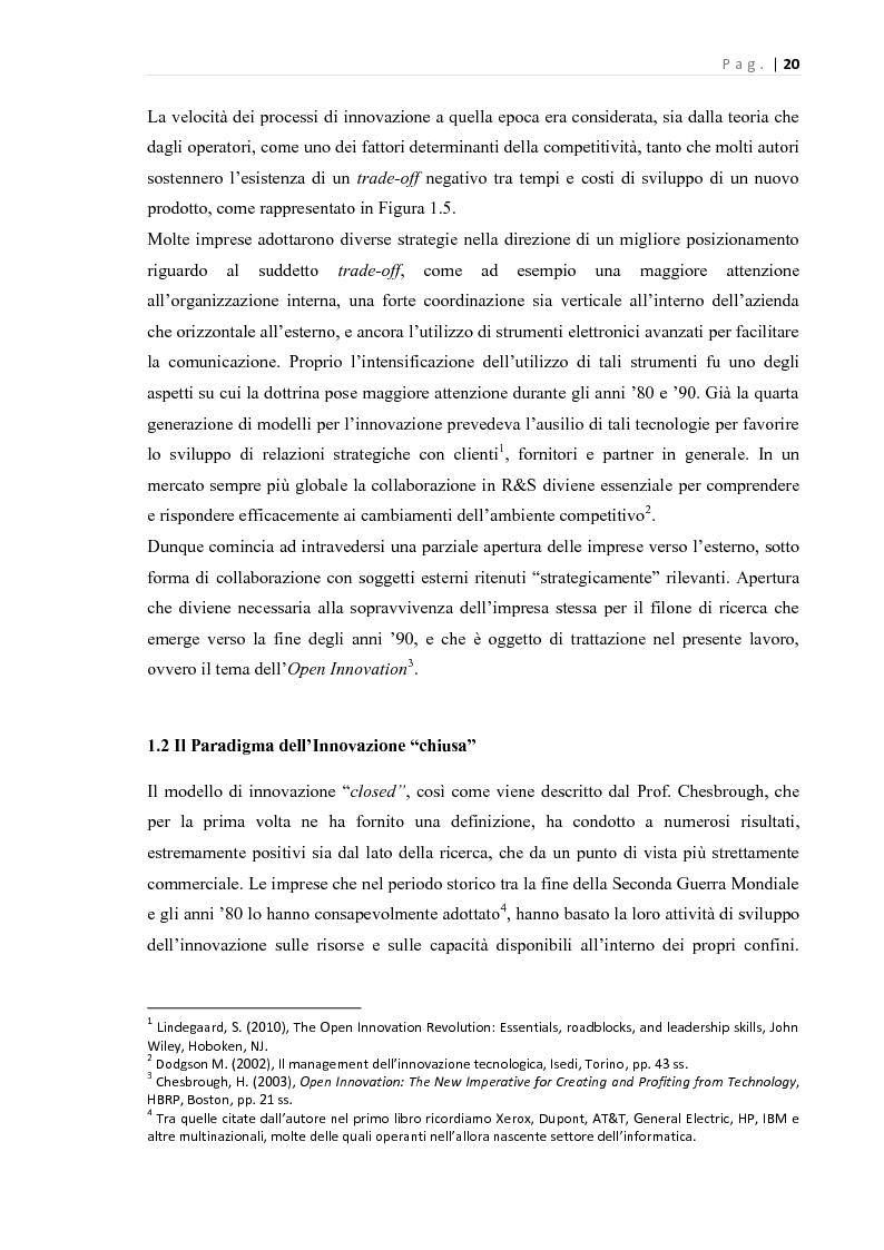 Anteprima della tesi: L'Open Innovation nella prospettiva del Marketing, Pagina 15