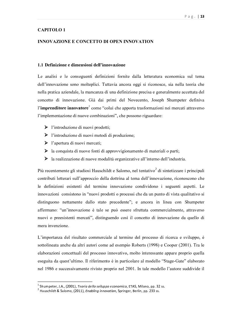 Anteprima della tesi: L'Open Innovation nella prospettiva del Marketing, Pagina 8