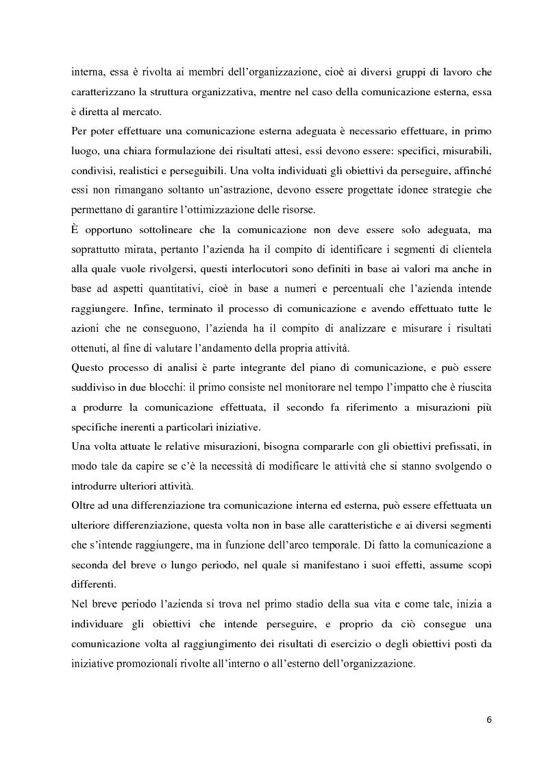 Anteprima della tesi: Strategie e strumenti di comunicazione nel settore bancario, Pagina 7