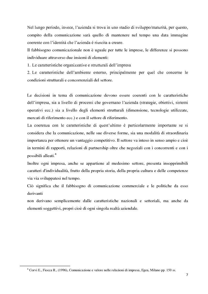 Anteprima della tesi: Strategie e strumenti di comunicazione nel settore bancario, Pagina 8