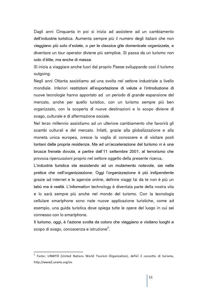 Anteprima della tesi: Riqualificazione e valorizzazione del sistema turistico-culturale della provincia di Foggia, Pagina 7