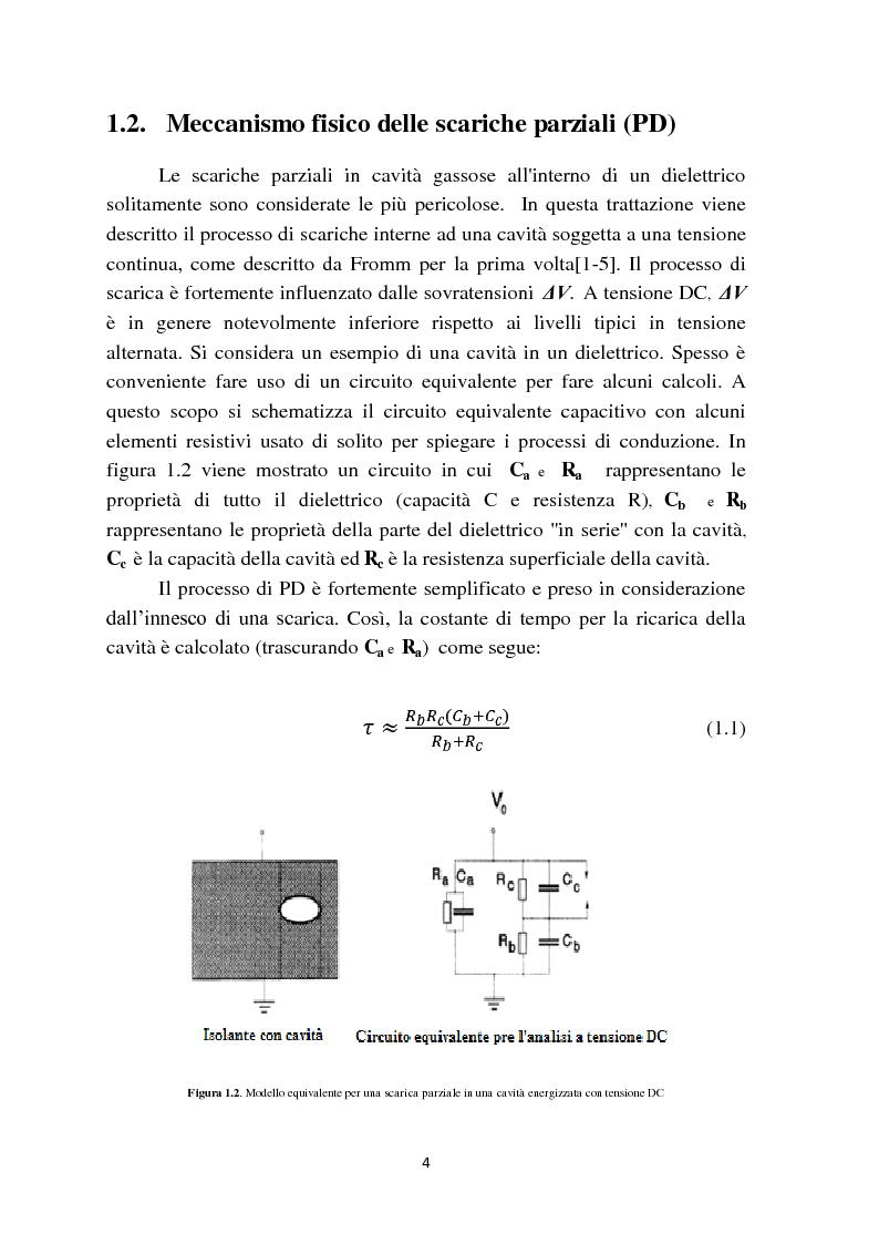 Anteprima della tesi: Fenomeni di scariche parziali in sistemi HVDC: caratteristiche e metodologie diagnostiche, Pagina 6