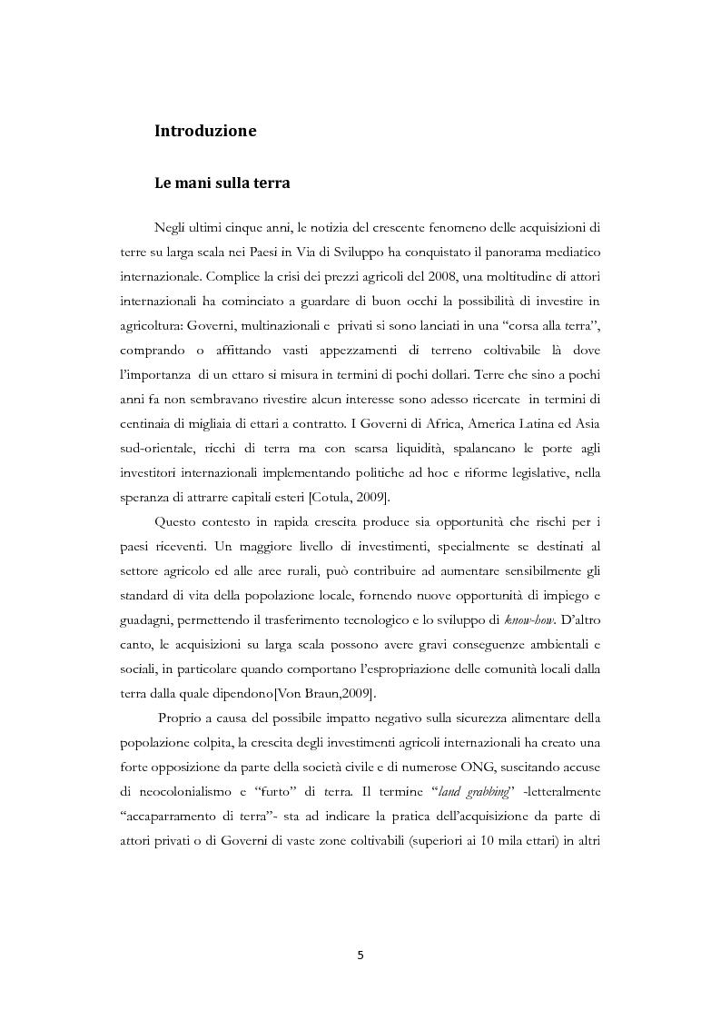 Anteprima della tesi: Land Grabbing e biocarburanti, Pagina 2