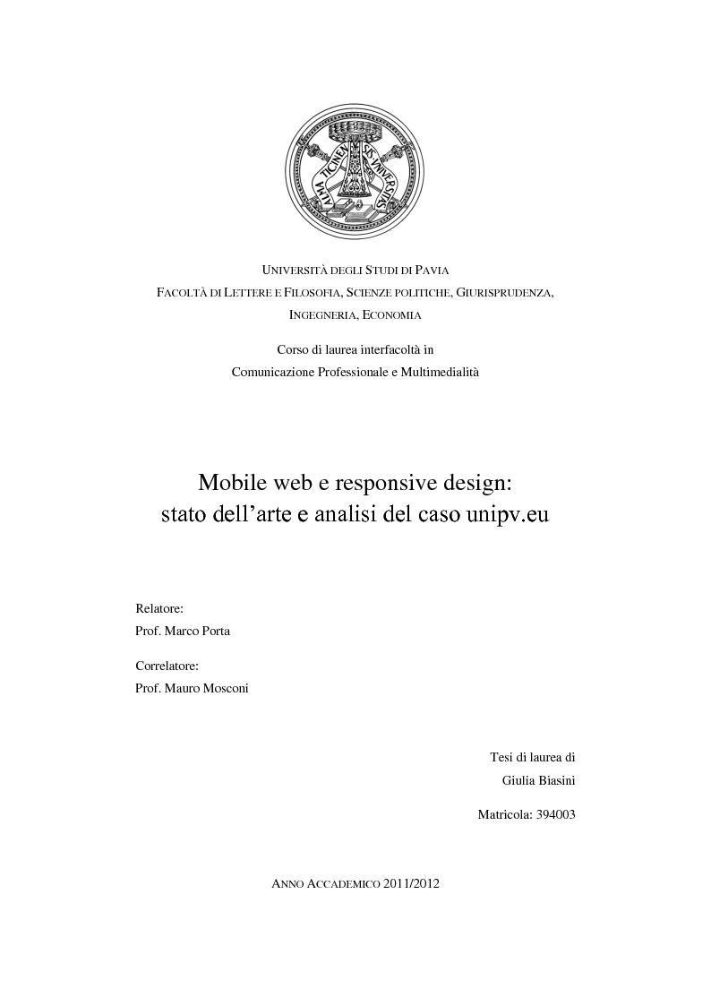 Universit degli studi di pavia facolt di lettere e filosofia for Design della comunicazione universita