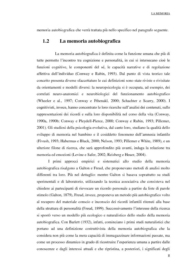 Anteprima della tesi: Suggestionabilità Interrogativa ed Intelligenza: risvolti applicativi nell'ambito forense. Un contributo di ricerca, Pagina 9