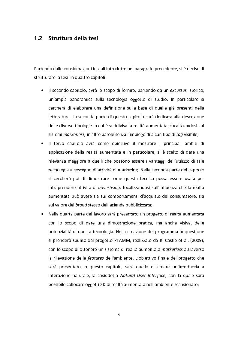 Anteprima della tesi: La realtà aumentata: tecniche innovative per l'advertising e l'e-commerce, Pagina 4