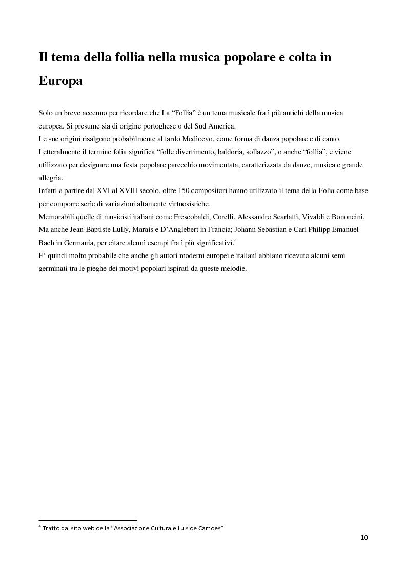 Anteprima della tesi: La follia nella canzone popolare italiana: la musica popolare italiana come strumento di riabilitazione psichiatrica in una esperienza di tirocinio nel Centro Semiresidenziale Vincenzo Chiarugi, Pagina 6