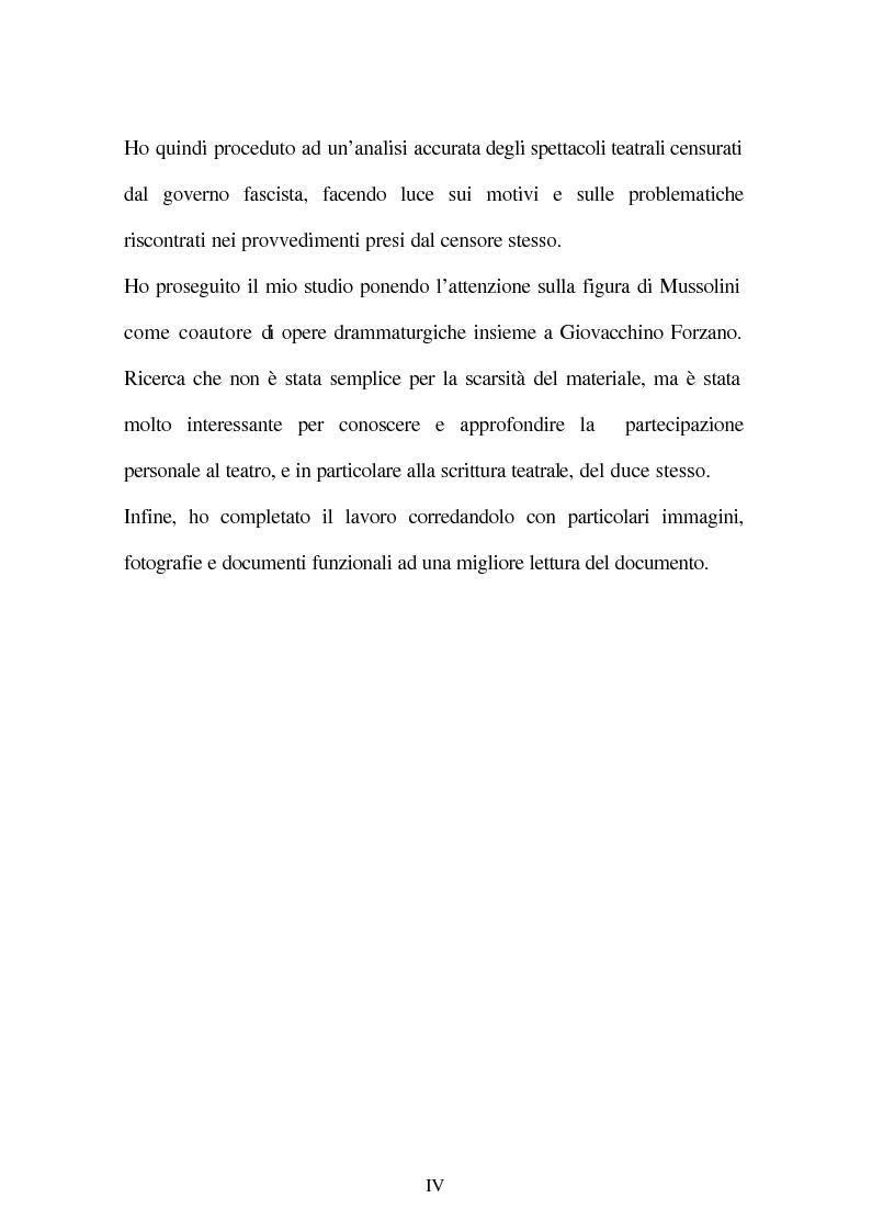 Anteprima della tesi: Il fascismo e il teatro, Pagina 2