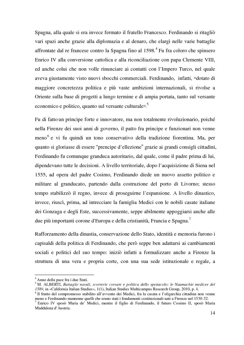 Estratto dalla tesi: Al servizio del Granduca: l'epica e lo spettacolo delle armi