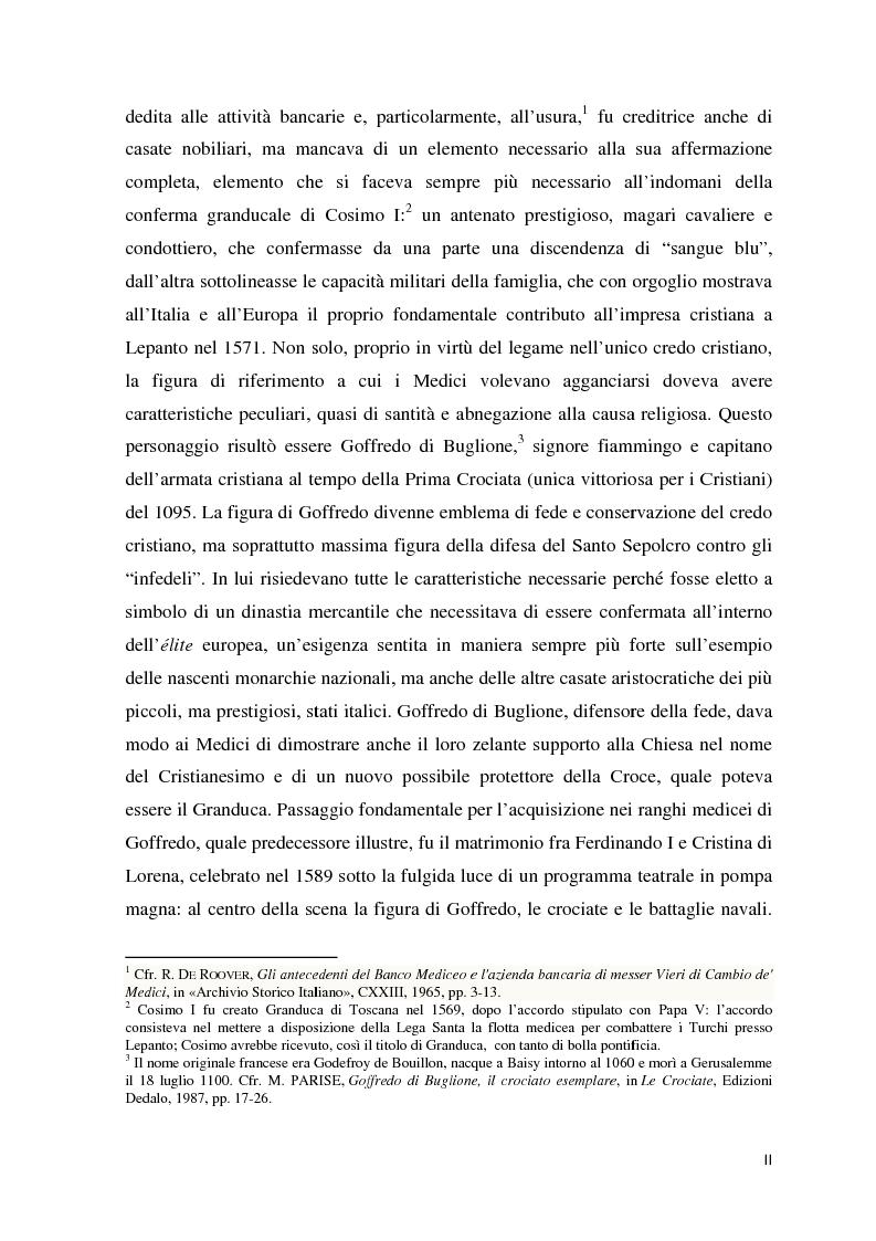 Anteprima della tesi: Al servizio del Granduca: l'epica e lo spettacolo delle armi, Pagina 3
