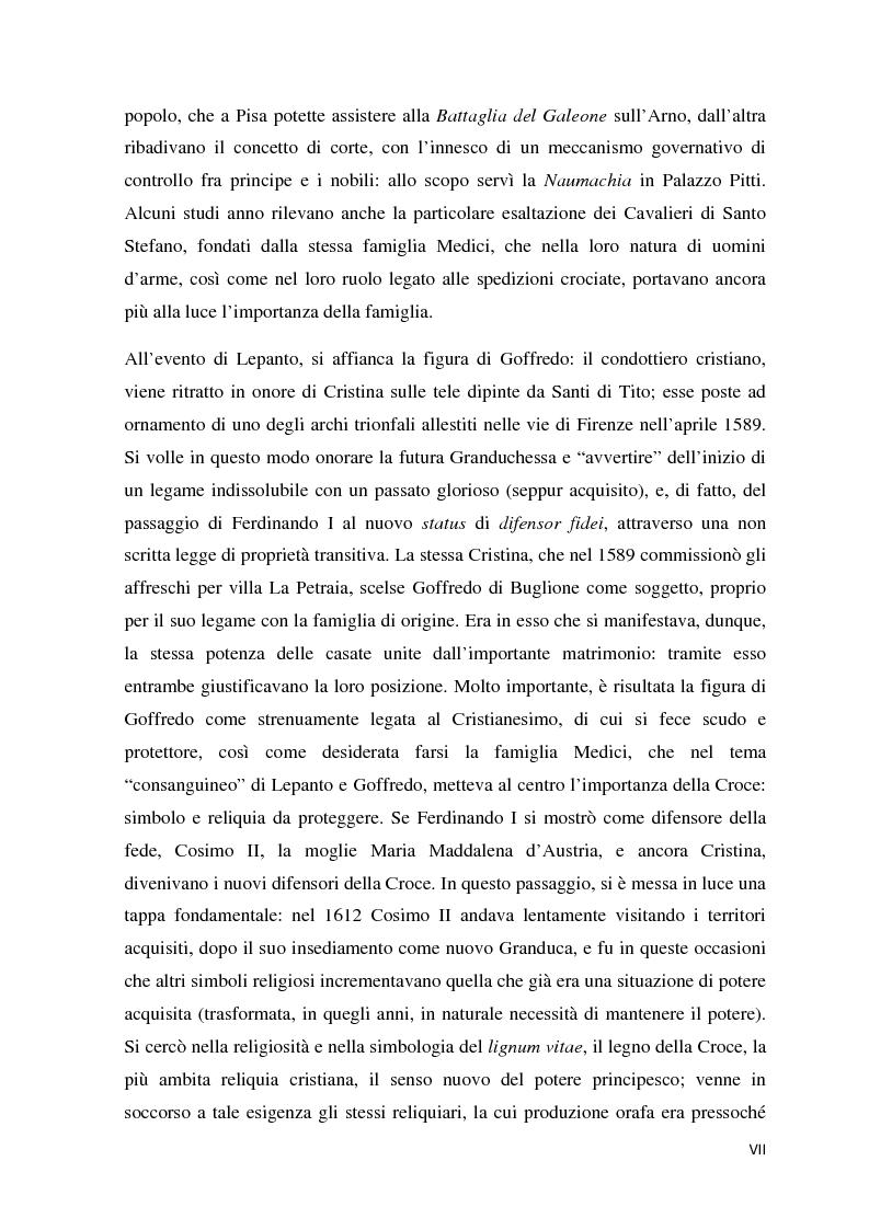 Anteprima della tesi: Al servizio del Granduca: l'epica e lo spettacolo delle armi, Pagina 8