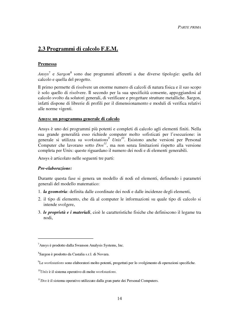 Anteprima della tesi: Progettazione automatica delle strutture reticolari spaziali, Pagina 10